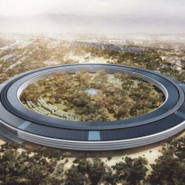 Ecco come si presenterà dall'alto il nuovo campus quando sarà completato