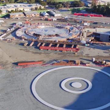 Il campus sarà non solo un luogo di lavoro ma anche un punto di ritrovo per i futuri eventi nell'auditorium dedicato.