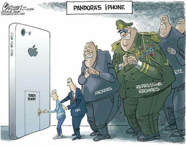 Caricature-iPhone-Backdoor