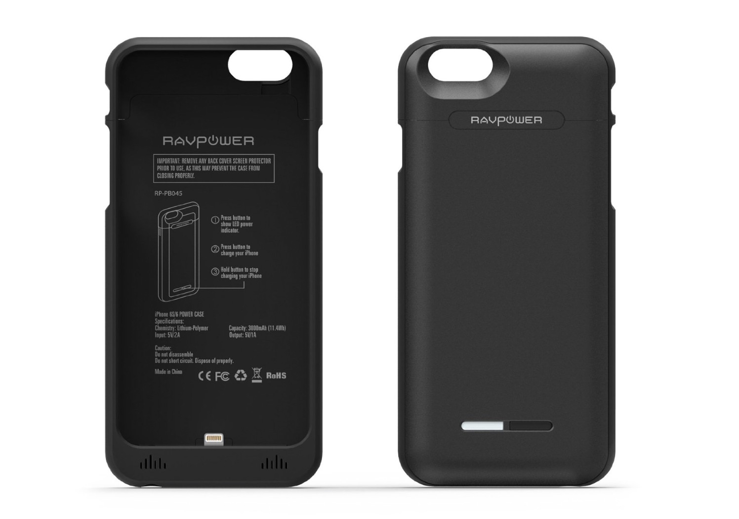 batteria custodia iphone x