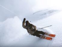 L'iPhone vola come un drone: spettacolare filmato sugli sci