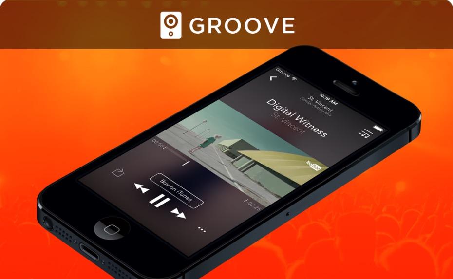 Groove app per iOS