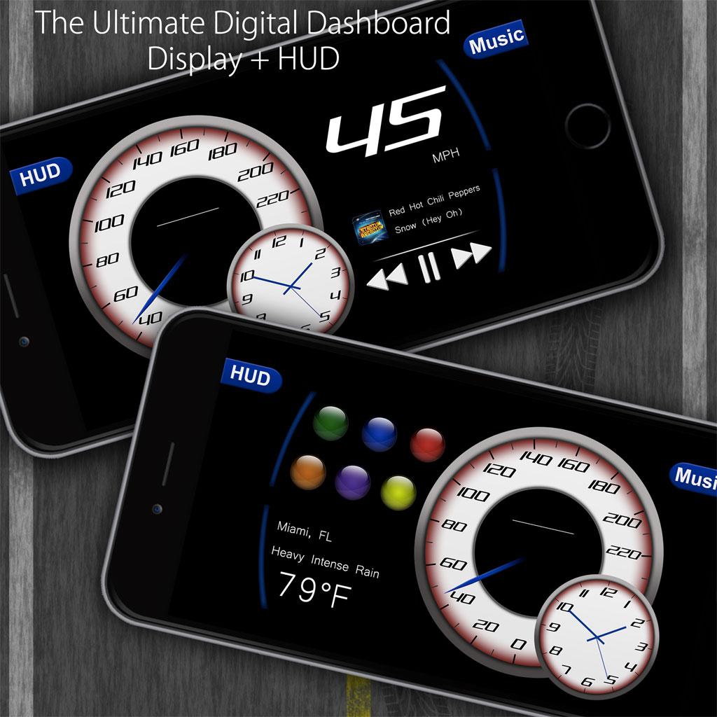 GUI Speedometer