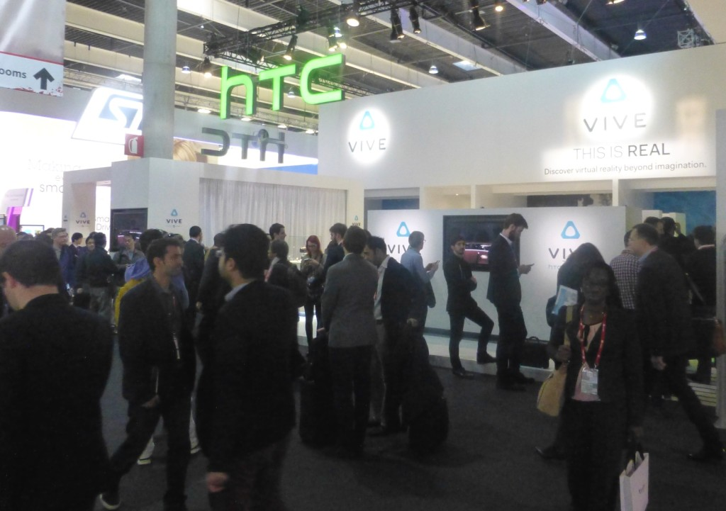 HTC vive stand mwc16