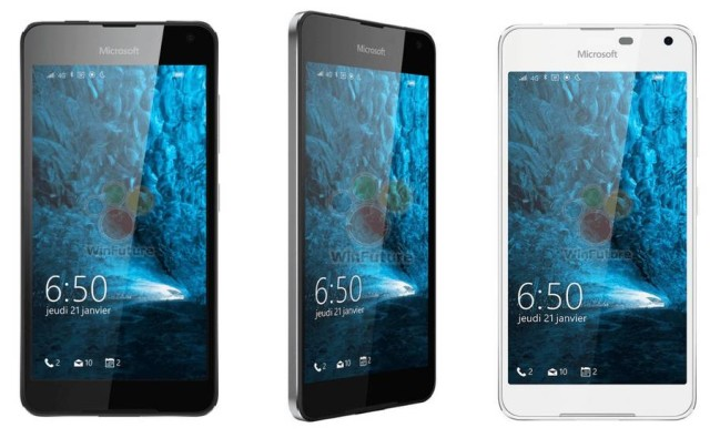 Lumia 650 e Lumia 850