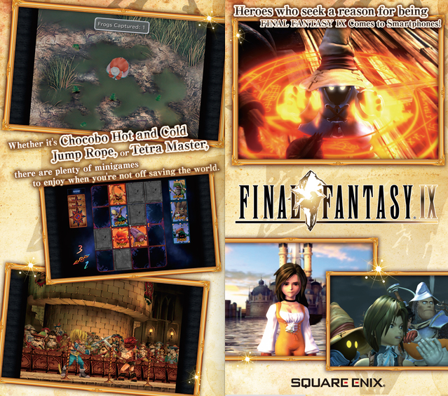Final Fantasy IX per iPhone