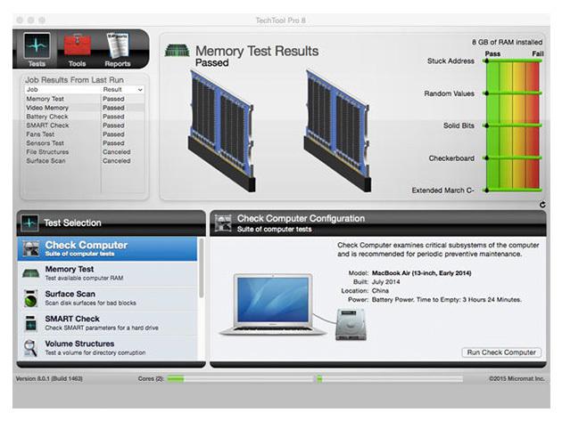 TechTool Pro 8 per Mac 2
