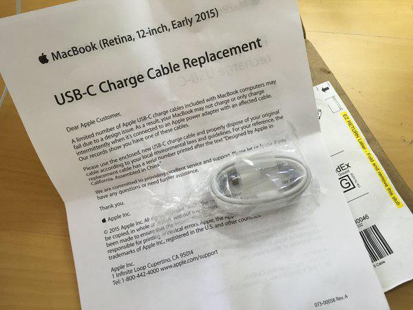 USB-C Apple difettosi