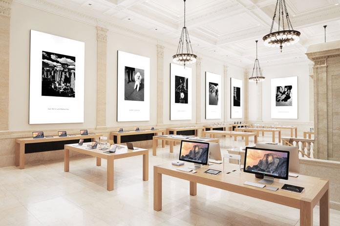 L'Apple Store di Upper East Side a New York