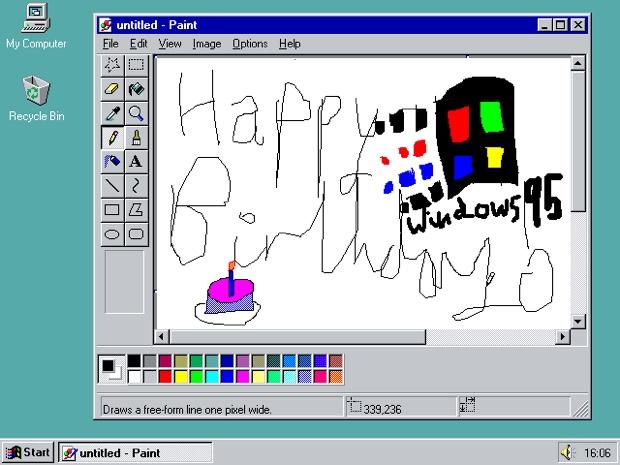 Windows 95 funziona nel browser