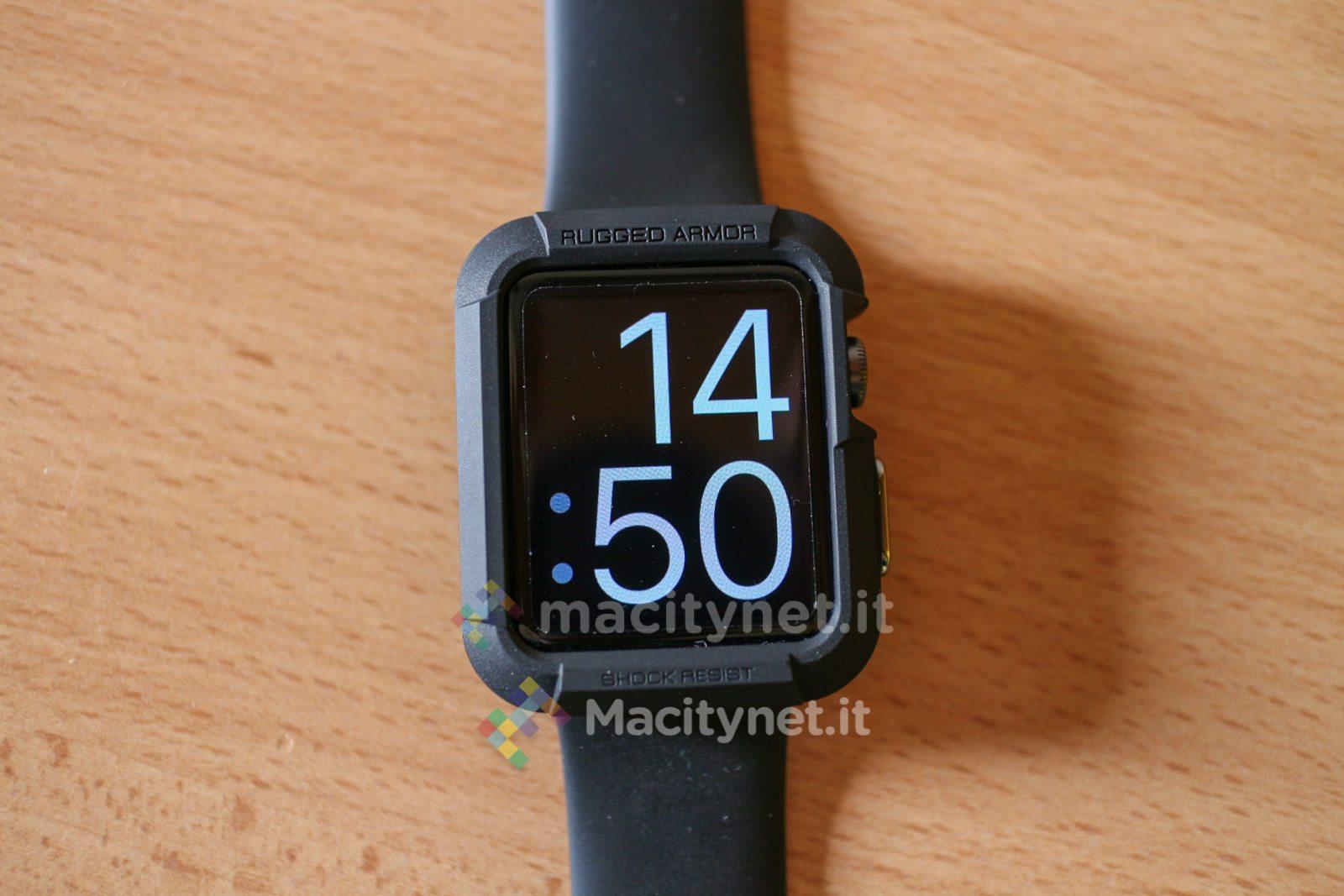 Recensione Spigen Case per Apple Watch