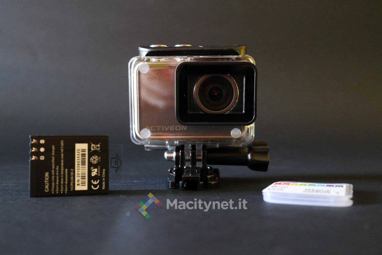 Recensione Activeon Cx Gold L Action Cam Con Touchscreen E Tutto Piu Facile Macitynet It