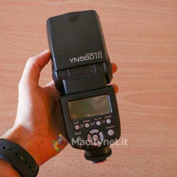 Recensione Yongnuo 560 Mark III