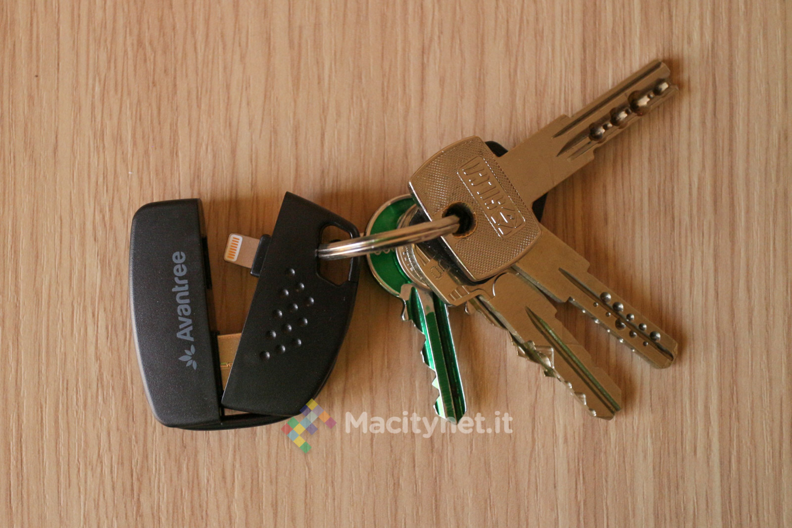 Recensione Avantree Keychain