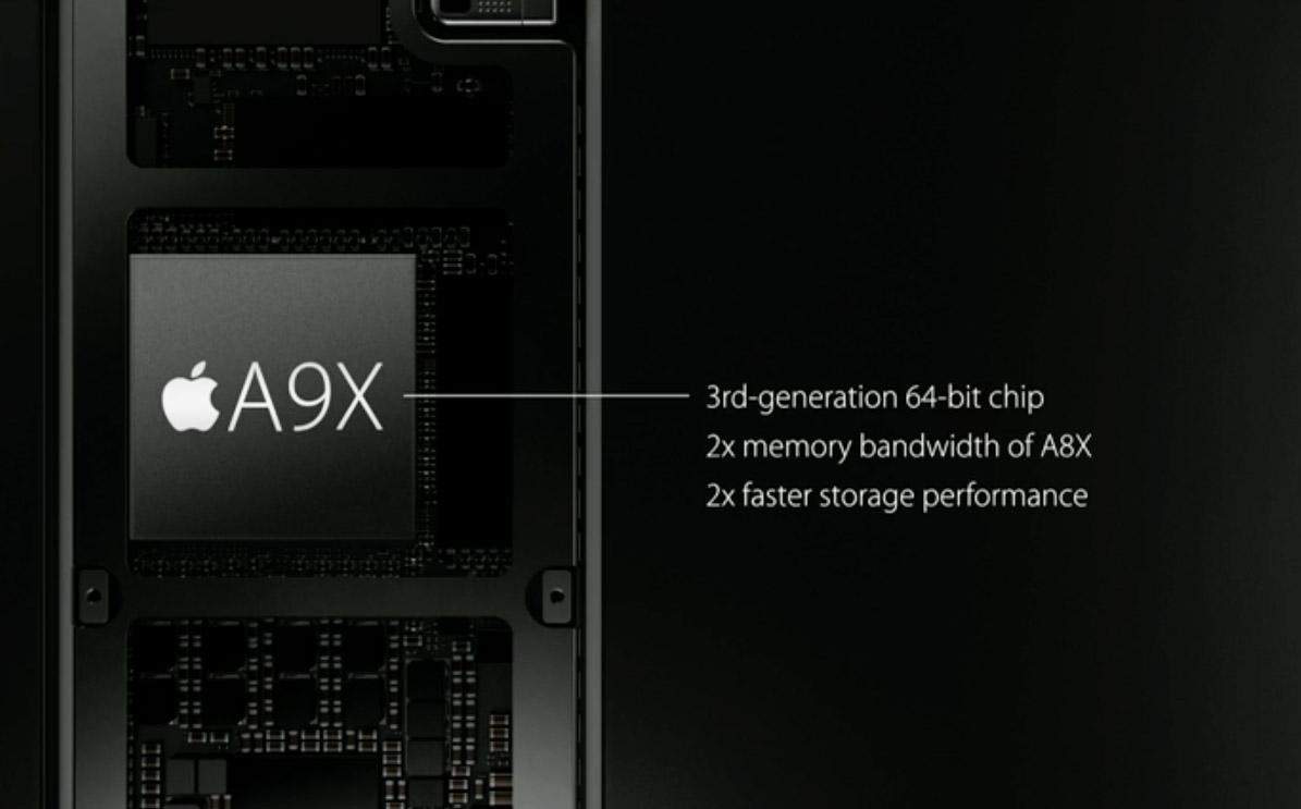 apple tv a9x - foto specifiche processore A9X