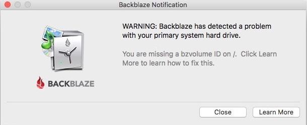 problema Backblaze