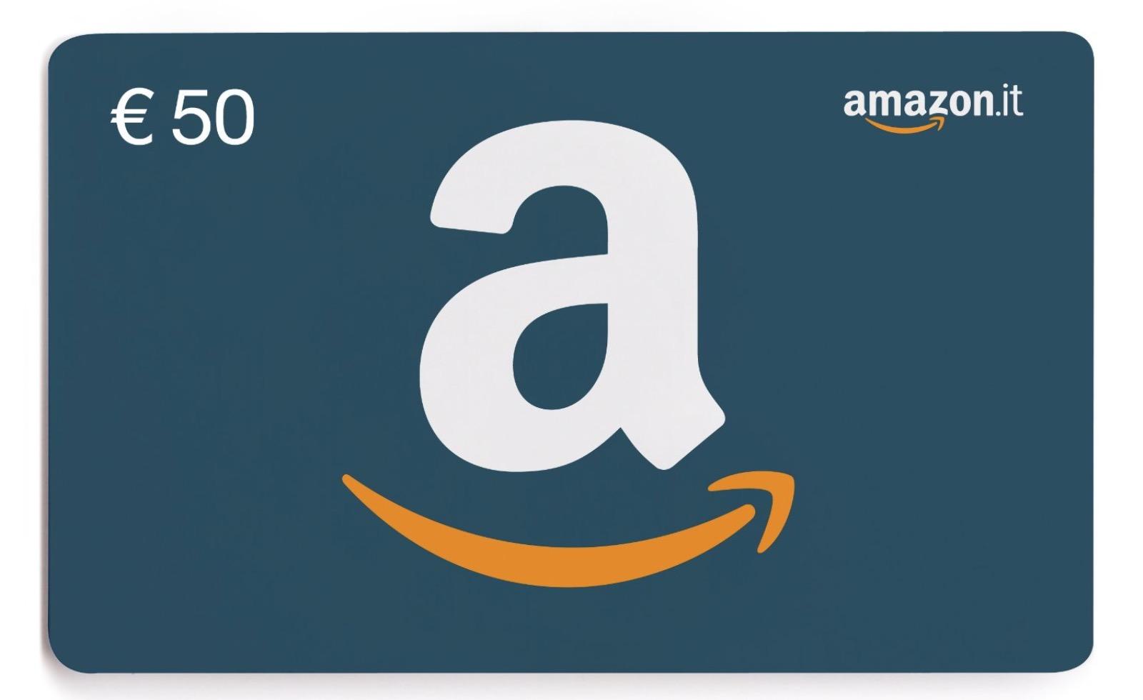 0d668bfb1a Su Amazon, 6 euro di sconto per chi acquista un buono regalo da 50 euro