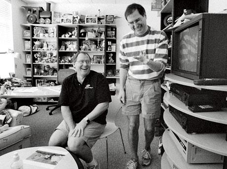 Steve Jobs con John Lasseter