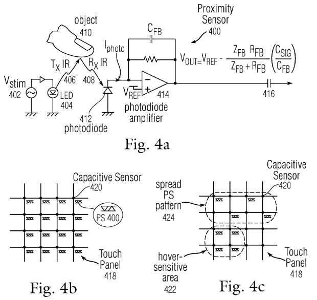 gesture aeree brevetto apple 2