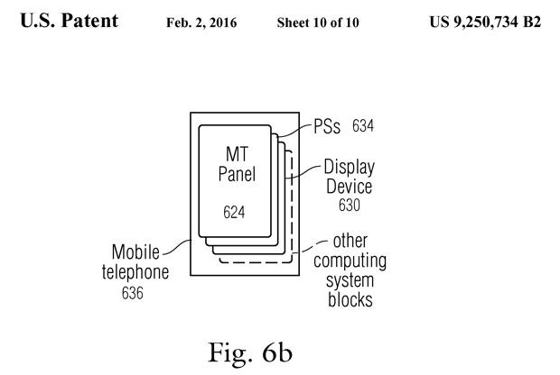 gesture aeree brevetto apple 4