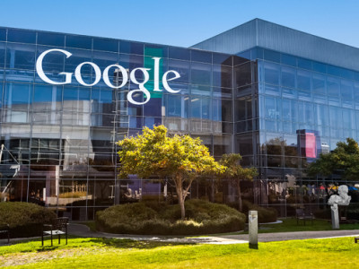 MOUNTAIN VIEW, CA/USA - October 12, 2013: Exterior view of a Google headquarters building. Google is a multinational corporation specializing in Internet-related services and products.; Shutterstock ID 192086159; Usage: Web; Issue Date: N/A