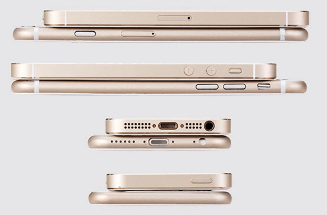 iPhone 5s iPhone 6s 3