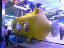 MWC16, a bordo del sottomarino giallo per provare Oculus VR in 4D con SK Telecom