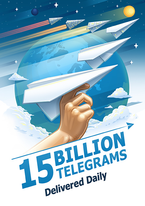 telegram messaggi inviati mese