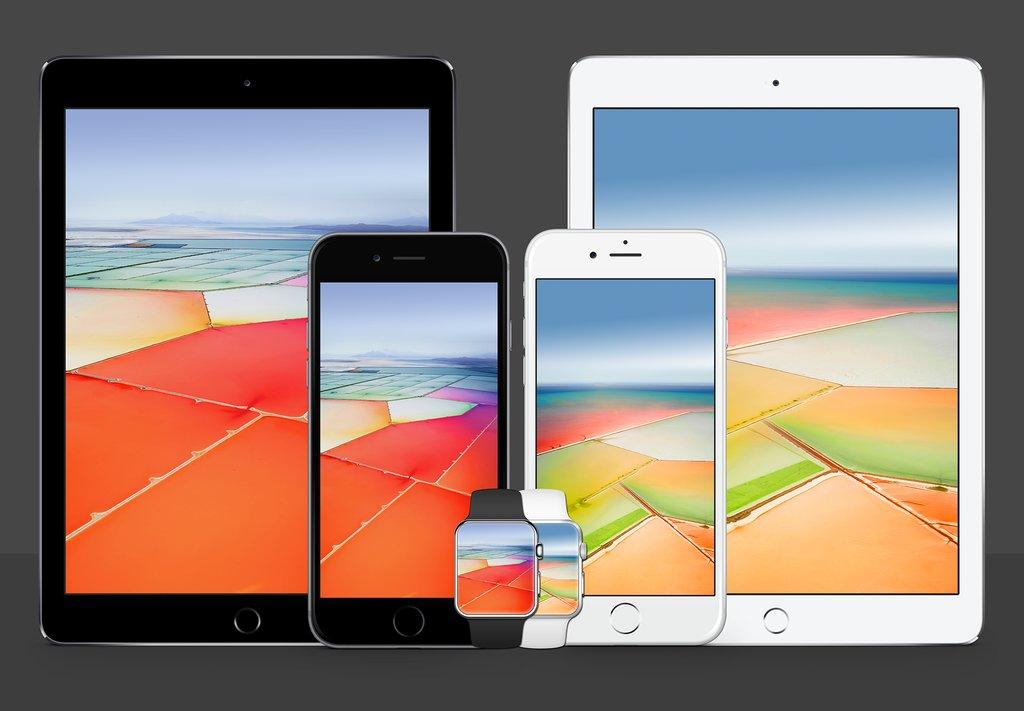 Gli Sfondi Usati Da Apple Per Presentare Iphone Se E Ipad Pro Ora Li