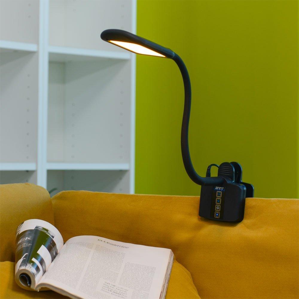 Quale Luce Per Studiare recensione annt sty-912, la lampada led snodabile con pinza