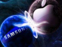 Apple batte Samsung nel trimestre, Samsung batte Apple nell'anno