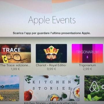 Applicazione per le dirette Apple TV 1