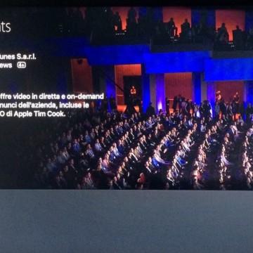Applicazione per le dirette Apple TV 2