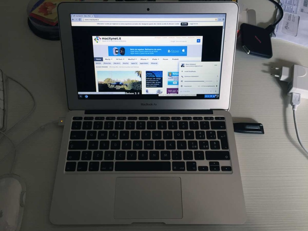 Mac trasformato in ChromeBook
