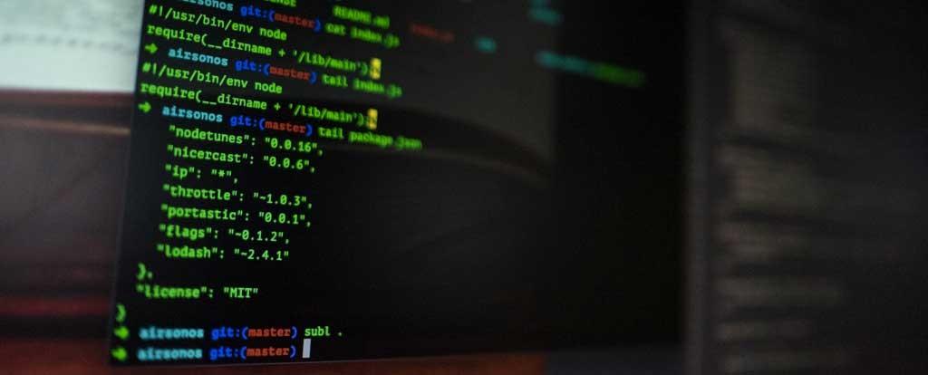 Esempio di codice sorgente di una pagina web