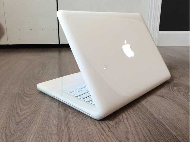 MacBook bianco