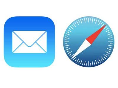 Mail e Safari