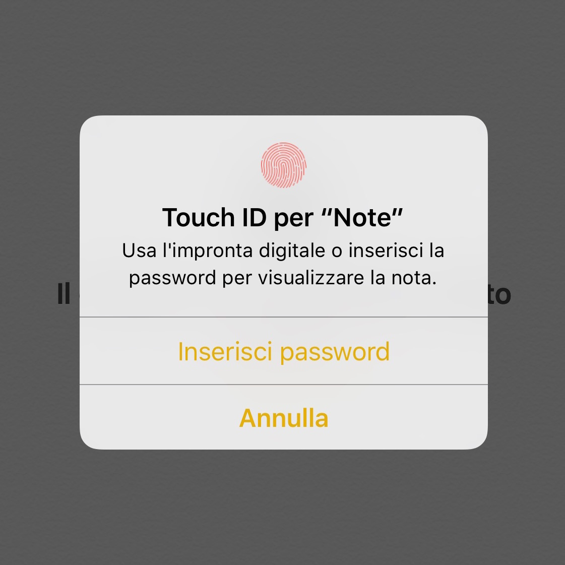 Note Touch ID