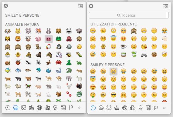 Come digitare emoji su Mac