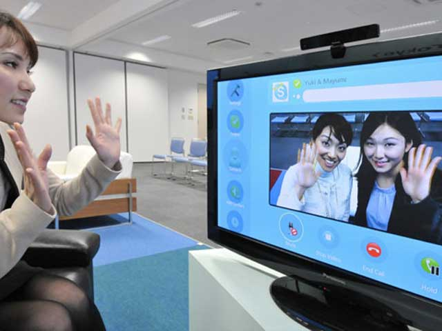 Skype sulla TV