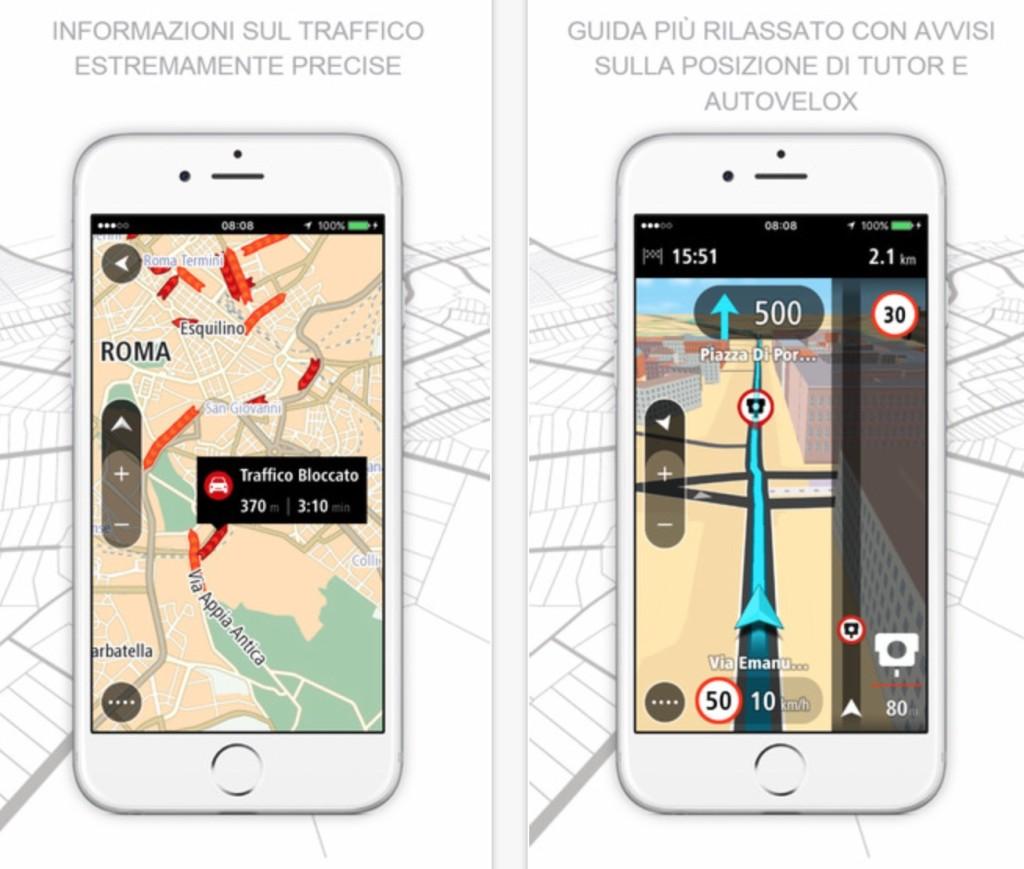 tomtom go mobile il navigatore ios con info sul traffico in tempo reale. Black Bedroom Furniture Sets. Home Design Ideas