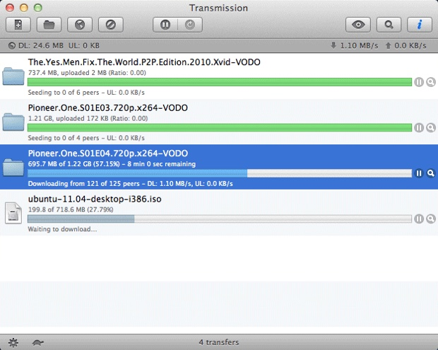 Transmission Mac 1