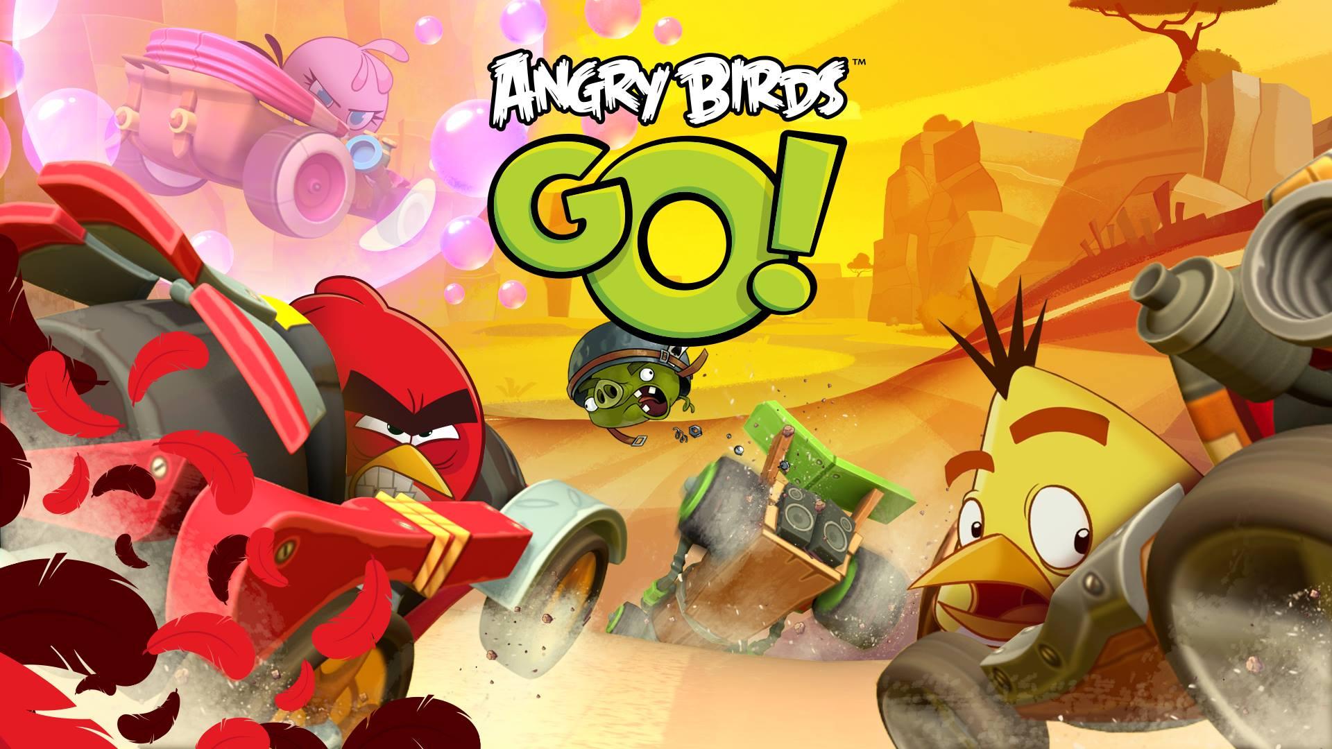 angry birds go Apple tv