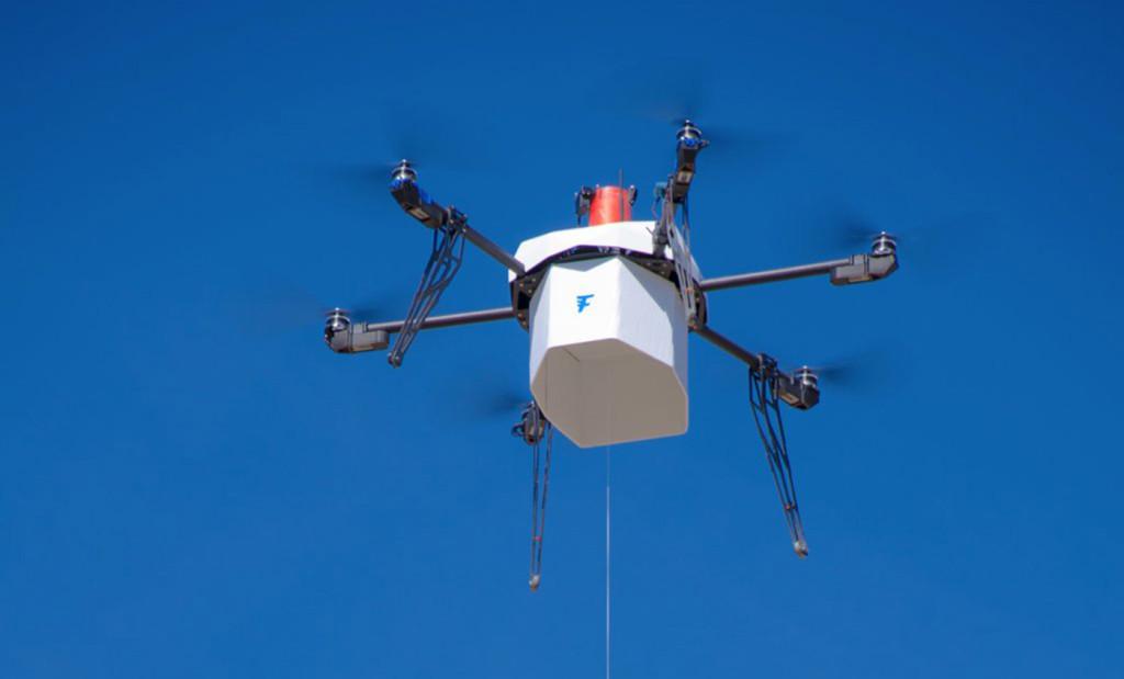 consegna con drone