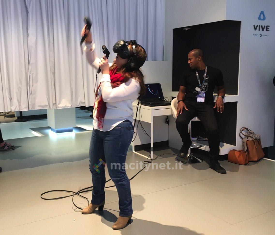 htc vive la realtà virtuale
