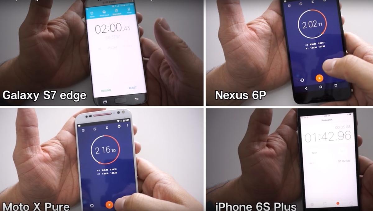 iPhone 6s distrugge Galaxy S7