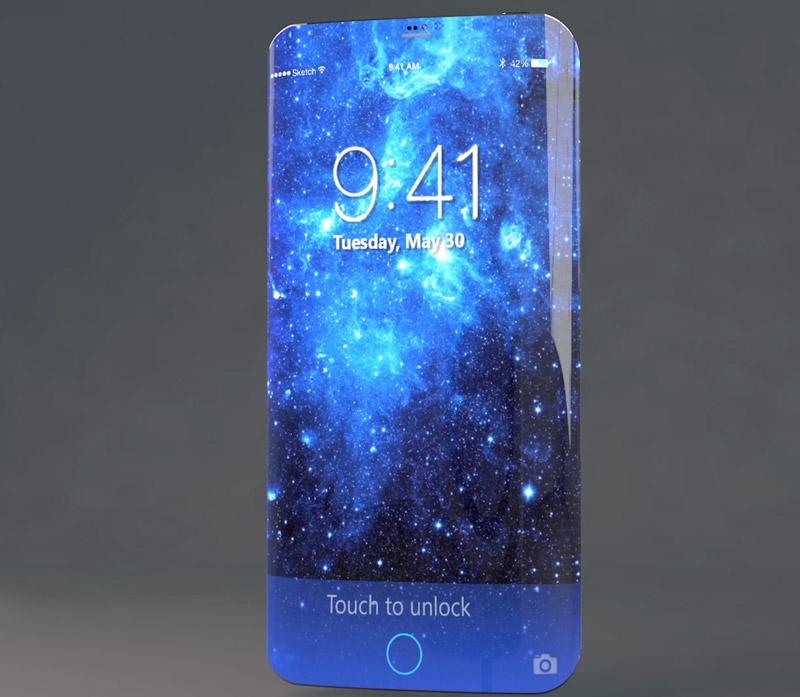 New York Times «iPhone 8 avrà display da bordo a bordo con tasto virtuale integrato»