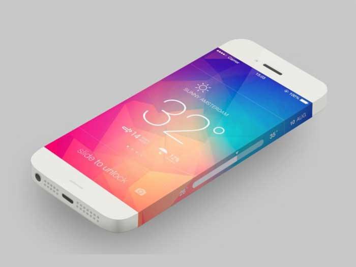 iPhone da 5,8 pollici