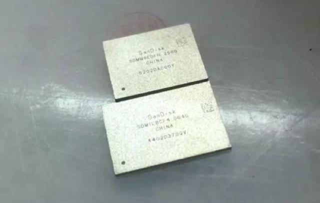 iphone 7 da 256 GB chip SanDisk