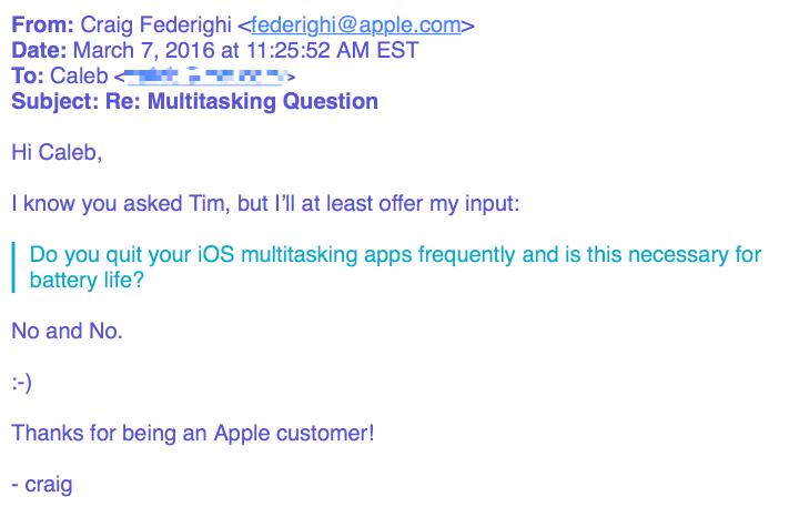 chiudere app multitasking batteria